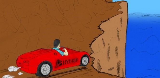 היבריס איננה מכונית עם שני מנועים