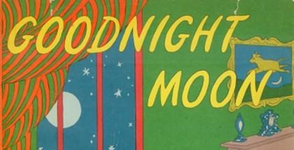 כריכת הספר לילה טוב ירח באנגלית