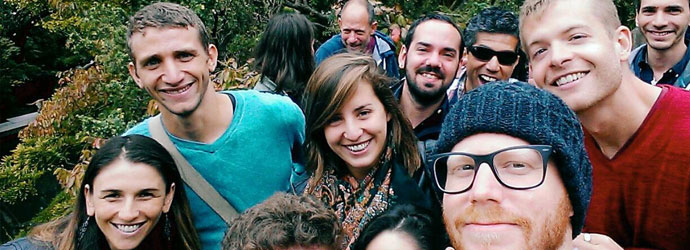 הסטודנטים במשלחת לסן פרנסיסקו